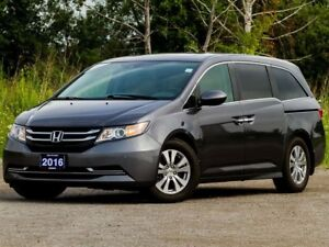 2016 Honda Odyssey EX-L Res - ACCIDENT FREE|LEATHER|DVD|BACKUP C
