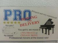 PRO MOVING AND DELIVERY