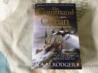 Military History Book: The Command of the Ocean (paperback) by N.A.M. Rodger Like new