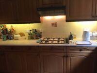 Kitchen units (oak) plus some built in appliances