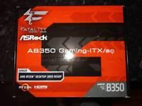 ASRock Fatal1ty AB350 Gaming-ITX/ac AMD Socket AM4