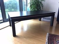 Wooden Coffee Table (black)