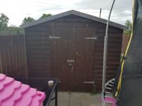 8ft x 10ft garden shed