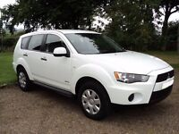 MISUBISHI OUTLANDER GX2 AWD 2.2 DIESEL - ONE OWNER FROM NEW - 24250 MILES ONLY - 175Bhp