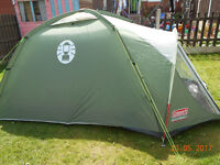 coleman rock springs 3 person tent NEW