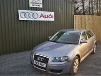 2008 AUDI A3 1.9 TDI E, £30 A YEAR TAX, VERY LOW MILES 72000, SERVICE HISTORY, TWO KEYS, SERVICED