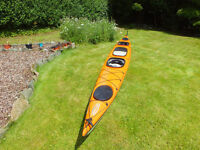 Double Sea Kayak - Tahe Marine Tandem Maxi. Excellent Condition