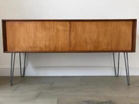 Vintage G Plan Form Five Sideboard/media unit on hairpin legs