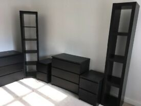 Very Good condition bedroom set, only used in guest room. Cheap for quick sale