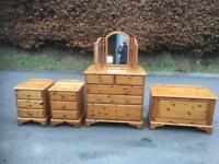 Ducal pine style chest of drawers * free furniture delivery*