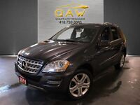 2011 Mercedes-Benz M-Class ML350 BlueTEC NAVI DVD REAR CAM LEATH