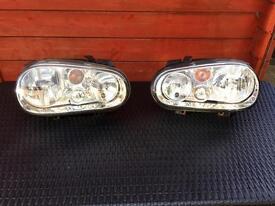 Headlights WV GOLF 4