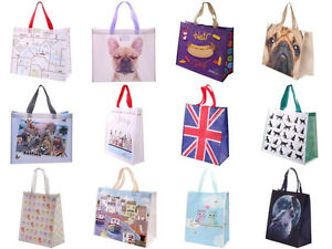 Nuevo-Reutilizable-Compras-Bolsa-Mujer-Viaje-Shopper-Hombro-Diseno-Bolso