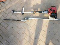 Long reach petrol hedge trimmer. Spares repairs