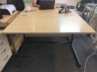 2 Computer Desks PC Table Home Office Study Desktop Workstation