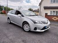 Toyota Avensis 2.0 D-4D 2014 1 Owner £30 Road tax Excellent Condition