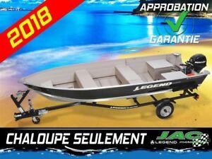 2018 Legend Boats Chaloupe 16 WideBody bateau pêche Chaloupe Seu