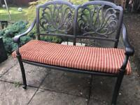 8x Garden Furniture Cushion for 2/3 Seater Bench