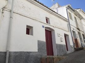 Spain, Inland Andalucia, Alozaina, (Malaga). Authentic village town house for reform.