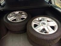 15in Renault Clio alloy wheels with tyres