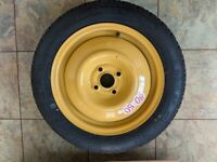 Spacesaver spare wheel and tyre. Honda Jazz 2015-2020. With jack and tools.