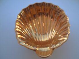 Royal Winton gold luster Bon Bon Dish