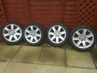 "Bmw alloys 17"" great tyres"