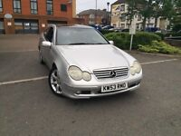 MERCEDES C180 AUTOMATIC KOMPRESSOR PAN ROOF ONLY £1195