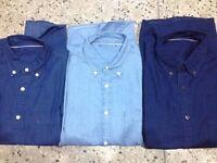 Men's Denim Shirt - wholesale