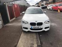 2014 BMW 1 series 116D M sport 5 door hatch back low mileage, take offers