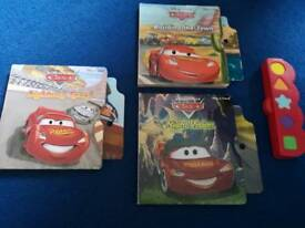 Lightening McQueen interactive books.