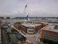 3 BED HIGH END APARTMENT IN THE CRESCENT BUILDING GUNWHARF - FURNISHED