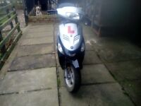 50cc moped / scooter - Baotian, recently serviced for sale