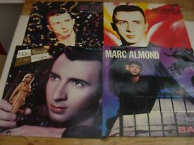4 MARC ALMOND ORIGINAL 12 inch SINGLES AT £6 THE LOT