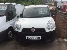 NO VAT NEW SHAPE FIAT DOBLO VAN 1.3 MULTIJET 37000 MILES FSH £4999 NO VAT