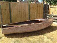 Solo Sailing Dingy Boat - Wooden - Enterprise