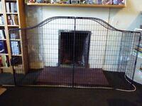 MOTHERCARE CURVED TOP SAFETY FIREGUARD - excllent condition, (141cm w x 43cm d x 82cm l) £20