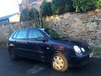 2003 Volkswagen Polo 1.4 tdi Good engine Reliable Car