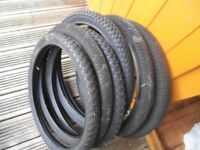 bmx joblot - Bargain cheap 20 inch bmx bike tyres