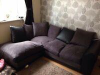 Corner sofa...