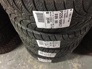 225/65/17 Goodyear UltraGrip Winter *Winter Tires*