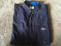 Lacoste men's shirt short sleeves Size 42-L Used v,good condition £6