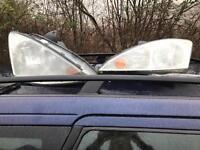 Mk1 Ford Focus facelift headlights