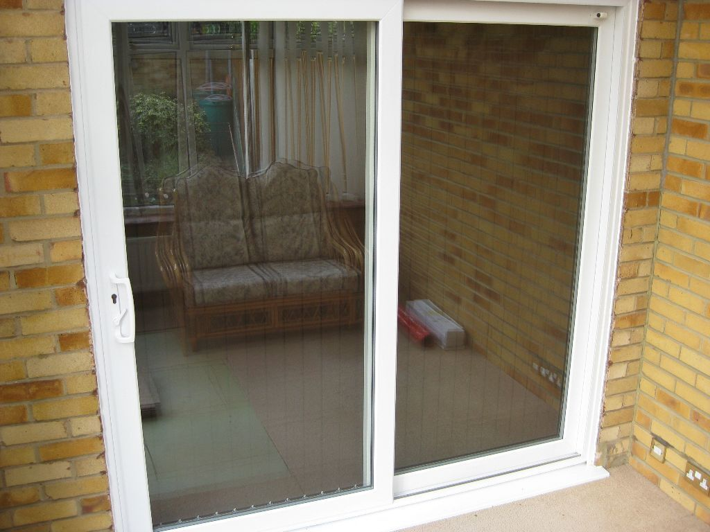 White upvc sliding patio doors in swanley kent gumtree for White sliding patio doors