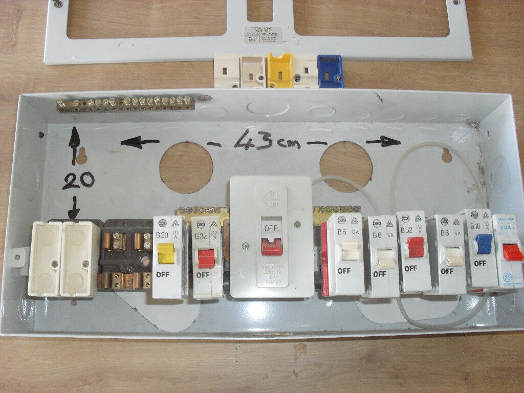 Fuse Box Consumer Unit In Horwich Manchester Gumtree