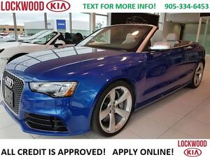 2015 Audi RS 5 RS 5 CONVERTIBLE - LEATHER, NAVIGATION, LOADED!!!