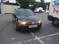 2009 VW GOLF MK6 BLUEMOTION TAX £20 MAY SWAP PART EXCHANGE ..... audi mercedes bmw vw passat skoda