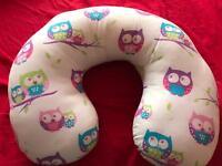 Owl nursing pillow