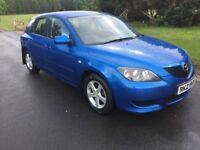 2006 MAZDA 3 1.6 # FULL YEARS M.O.T # 3 MONTHS WARRANTY #