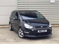 2012 Ford S-Max 2.0 TDCi Titanium X Sport 5dr DIESEL***MEGA SPEC**choice of 2**ONE COMPANY OWNER